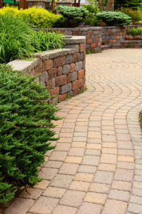 Using Concrete Sand to Install Pavers in Long Green