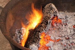 Extinguishing Firewood Safely in Parkton