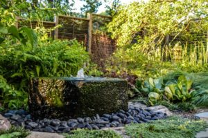 Design Ideas: a Zen Garden Filled with Natural Stone, Water, and Lighting Features
